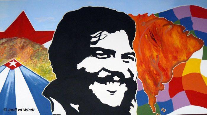 La higuera painting Che