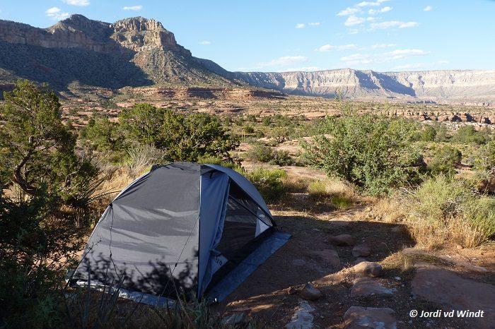 Camping at Toroweap